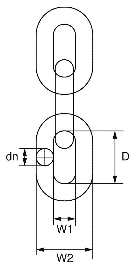 Grade 8 Short Link Chain - G8C - GT Lifting